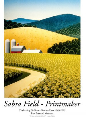 Sabra Field 50th anniversary poster