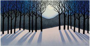 Snow Moon II by Sabra Field